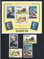 Barbuda 1979 Briefmarken Mi.Nr. 639/42 Kpl. Satz + Block 41** - Antigua Und Barbuda (1981-...)