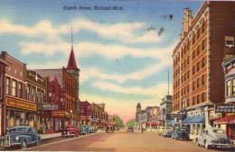 CPA: STERLING HEIGHTS (états-unis) :  Holland Mich En 1958.     (7596) - Sterling Heights