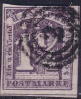 Hamburg: 1 1/4s From 1864 VFU (Y&T N° 8 , CV +100€) - Hambourg