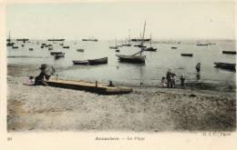CPA - 33 - ARCACHON - La Plage - 758 - Arcachon