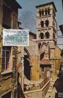 Carte-Maximum FRANCE N° Yvert  2348 (VIENNE - Egise De St André) Obl Sp Ill 1er Jour (Ed Cellard 37398) - 1980-89