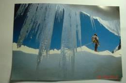 D 05 - Massif De L´oisans - Alpinisme Au Glacier De La Girose - Format: 170mm Sur 120mm - France