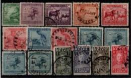 Congo Belge - Lot De 16 Oblitérés, Entre N° 118 Et 141 - 1923-44: Gebraucht