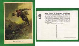 CARTOLINA MILITARE  GRANATIERI DI SARDEGNA - DIVINA BUGIA DI V. PISANI - Regimenten