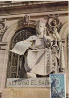3245  España Maxima, Alfonso X El Sabio Nº1654 - Maximum Kaarten