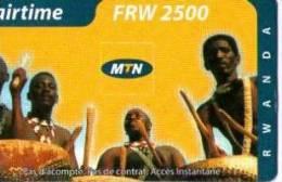 TELECARTE RWANDA AIR TIME - Télécartes