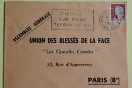 21 Cote D´or - Flamme 1962 - CHATILLON SUR SEINE - Trésor De Vix - Sellados Mecánicos (Publicitario)