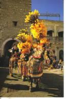 Cartolina Folklore-sicilia -taormina - Costumes