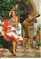 Cartolina Folklore-spagna Tipica - Costumes