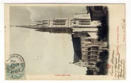 """Oblitération T18 Sur 5c.  Blanc  -  """" VALENCE D'AGEN  /  TARN ET GARe  /  4  DEC  05 """" - 1877-1920: Periodo Semi Moderno"""