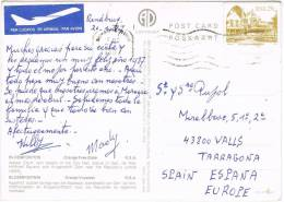 3568. Postal Aerea RANDBURG  Orange Free State (South Africa) 1987. Vistas Bloemfontein - África Del Sur (1961-...)