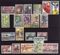 Czechoslovakia - 1962 - 7 Sets & 3 Single Stamp Issues - Used - Tchécoslovaquie