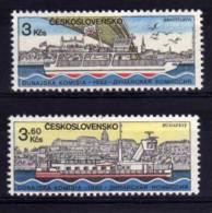 Czechoslovakia - 1982 - Danube Commission - MNH - Czechoslovakia