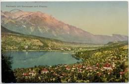 SWITZERLAND 1917 Sachseln Mit Sarnersee & Pilatus Postcard Use - Schweiz