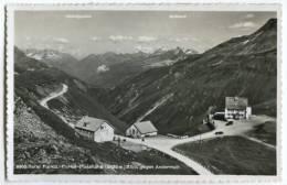 SWITZERLAND  Hotel Furka & Furkablick Furks Passhohe Postc - Schweiz