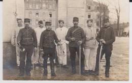 Carte Photo Provenant D'un Album Intitulé.5 Escadron Train Fontainebleau. épée.clairon. - Guerre 1914-18