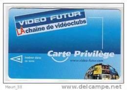 """VIDEO FUTUR - Carte """"PRIVILEGE """"  Sph�re  """"KILL BIL """" """" BAD BOYS"""" """" TERMINATOR"""" -  RARE- BE"""