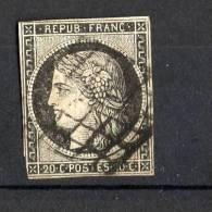 N 3 Oblitere - 1849-1850 Cérès