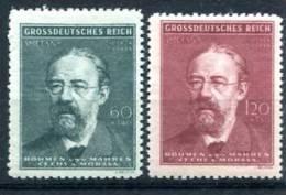 Böhmen Und Mähren Smetana  Mi. 138-139   **/Luxus   Selten    Siehe Bild - Besetzungen 1938-45