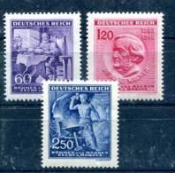 Böhmen Und Mähren  Wagner    Mi. 128-130   **/Luxus   Selten    Siehe Bild - Besetzungen 1938-45