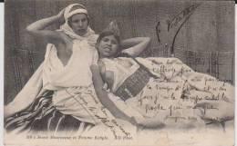 Cp Ancienne Provenant D'un Album Intitulé.5 Escadron Train Fontainebleau. Campagne Maroc 1912.mauresque - Guerre 1914-18