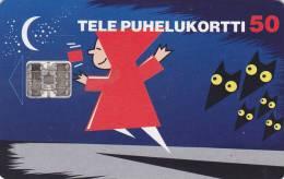 Finland, D041, Little Red Riding Hood, 2 Scans. - Finlande