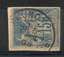 BRUNOY Seine Et Oise  Sur SAGE. - Marcophily (detached Stamps)