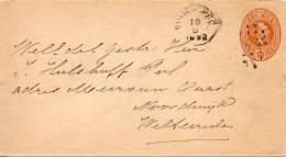 INDES NEERLANDAISES ENTIER POSTAL 1892 - Niederländisch-Indien