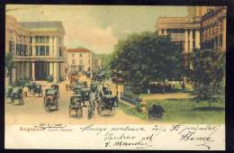 SINGAPORE    Court House   1906.        Old Postcard - Singapur