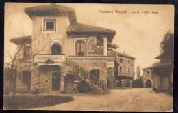 GRAZZANO  VISCONTI  Piacenza      1931      cartolina