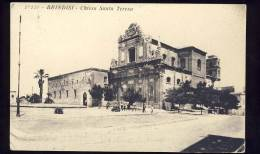 BRINDISI    Chiesa Santa Teresa          Cartolina   1933 - Brindisi