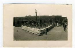 SYRIE - SOUIDA, Le Poste -  1924 - Carte Photo - Syrie