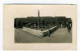 SYRIE - SOUIDA, Le Poste -  1924 - Carte Photo - Syria