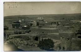 SYRIE - SOUIDA, Vue Générale -  1924 - Carte Photo - Syrie