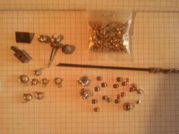 Pieces Pour Montre Et Horlogerie Fermoir , Remontoir Gousset... - Non Classés