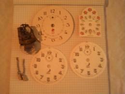 Cadran Papier Avec Un Mecanisme Petit Coucou ? - Bijoux & Horlogerie