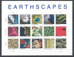 USA. Scott # 4710a-o, MNH. Earthscapes Pane Of 15. (2012) - Hojas Completas