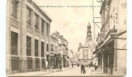 10* ROMILLY SUR SEINE Rue De La Boule D'or Et Hotel De Ville - Romilly-sur-Seine
