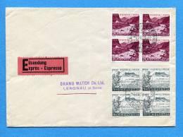 Suisse, Switzerland, Schweiz, Brief,  1954,  Pro Patria - Lettres & Documents