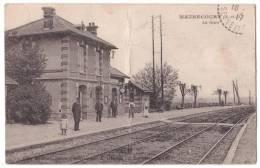 France - Maurecourt  - La Gare - 1917 - Maurecourt