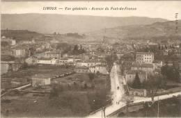 11  LIMOUX  *Vue Générale  -Avenue Du Pont -de-France * - Sin Clasificación