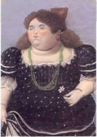 Lote PEP303, Colombia, Postal, Postcard, Fernando Botero, Mujer, Pastel - Colombia