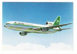 ARABIE  SEOUDITE  /  THE  SAUDIA  LOCKHEED  TRISTAR  ( Avion ) /  THE  AIRLINE  OF  THE  KINGDOM  OF  SAUDI  ARABIA - 1946-....: Moderne