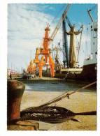 ARABIE  SEOUDITE  /  SAUDI  ARABIA  /  LE  PORT  DE  RAS-TANNOURA  ( Bateaux, Conteneurs Et Matériel Portuaire ) - Arabia Saudita
