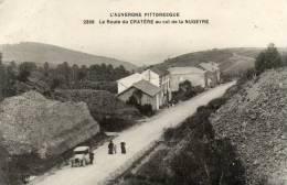 CPA - 63 - La Route Du Cratère Au Col De La NUGEYRE - 780 - France