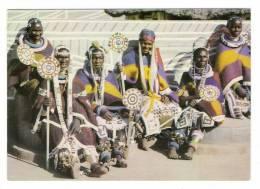 SOUTH  AFRICA  /  BANTU  LIFE  /  NDEBELE  WOMEN  IN  CEREMONIAL  DRESS  ( Ethnographie ) - Afrique Du Sud