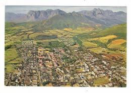 SOUTH AFRICA  /  STELLENBOSCH  /  AERIAL VIEW FROM 2000 Feet  :  DRAKENSTEIN , BANHOEK AND JONKERSHOEK MOUNTAINS - Afrique Du Sud