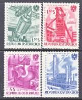 Austria 669-72   ** - 1961-70 Unused Stamps