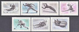 Austria 711-17   **  WINTER  OLYMPICS - 1945-.... 2ème République