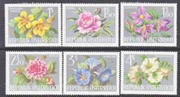 Austria 719-24   *  FLOWERS - 1961-70 Unused Stamps
